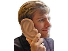 Ear shaped case for iPhone 4 and 4S! Only £10.12 excluding VAT! #earphone #iphone #iphone5 #iphone4 #iphone4s #technology #gadgets #noveltygifts