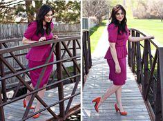 Revived Peplum Dress