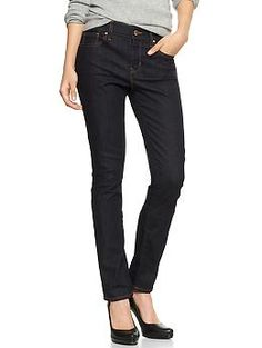 1969 curvy skinny indigo jeans from the GAP.  I am curvy and I like skinny jeans so these should do the job!