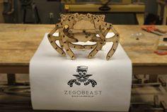 ZeGoBeast - A DIY Mechanical Walking Creature by ZeGoBeast LLC — Kickstarter