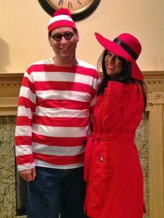 couple's costume! OMG! Why didn't I think of this one? My childhood right here!