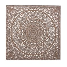 Pin from www. Moroccan Home Decor, Geometry Pattern, Ibiza Fashion, Wall Decor, Wall Art, Panel, Stencils, Dining Table, Tapestry