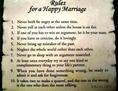 Things to ponder..... marriage