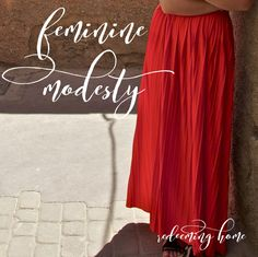 Dressing modestly and being intentional with my clothing choices is a big part of my life, and some people don't understand why. A long time ago, I was quite the immodest dresser. I shared th…