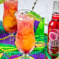IZZE® Hurricane Cocktail