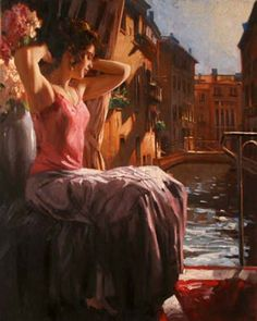 Original Painting, Prelude by Richard Johnson
