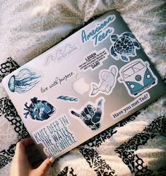 blue macbook stickers!!!