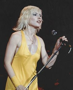 Blondie Debbie Harry, Blondies, My Idol, Singer, Rock, Concert, Celebrities, Girls, Photos