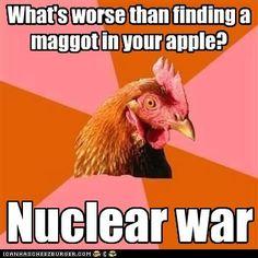 Today's LOL Anti-joke chicken