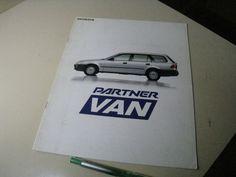 HONDA PARTNER VAN Japanese Brochure 1996/03 EY6/7/8 D13B D15B D16A