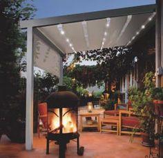 Weatherproof Patio Cover#garden #gardenideas #pergola