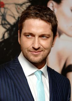 Gerard Butler--he's Scottish!! Sounds like a legit Viking. Love it