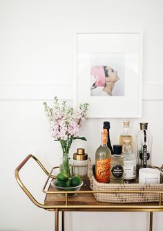 Perfect bar cart