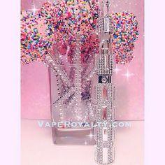 Custom 3D Bling Diamond Couture Vape Kit!  http://www.vaperoyalty.com/diamond-couture-custom-3d-bling-vape/