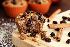 Cinnamon Raisin Harvest Muffins | Paleo Newbie