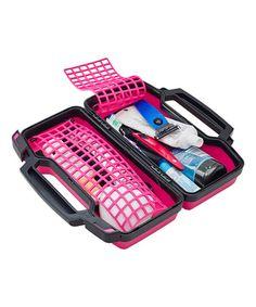 Look what I found on #zulily! Pink Travel Case #zulilyfinds