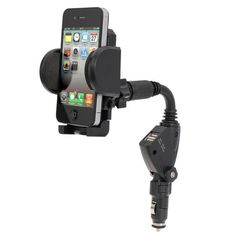 Multifunctional Car Charger Adapter Holder Stand For Mobile Phone
