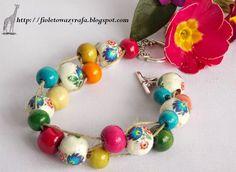 polski folk Beaded Bracelets, Charmed, Drop Earrings, Jewelry, Jewlery, Jewerly, Pearl Bracelets, Schmuck, Drop Earring