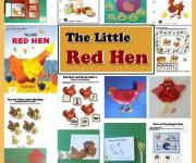The Little Red Hen crafts, activities, folder games, emergent reader booklets for preschool and kindergarten. Aligned to the Common Core State Standards.