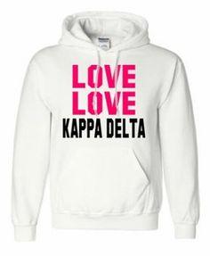 #greekgear.com            #love                     #Kappa #Delta #Love #Love #Hooded #Sweatshirt       Kappa Delta Love Love Hooded Sweatshirt                                       http://www.seapai.com/product.aspx?PID=1230462