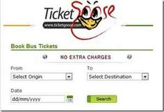 TicketGoose is offering 8% off on Bus Tickets (no minimum booking required).