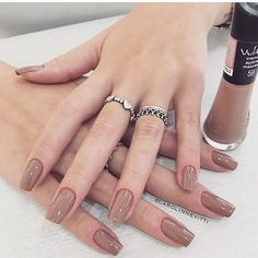 What manicure for what kind of nails? - My Nails Nagellack Design, Nagellack Trends, Swag Nails, My Nails, Grunge Nails, Nail Paint Shades, Wide Nails, Simple Acrylic Nails, Nail Designer
