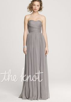 Bridesmaids. Either in a darker grey or my green color.