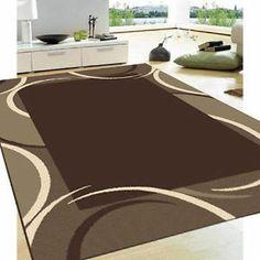 Brown and Beige carpet and rugs   ... BROWN BEIGE TRENDY LARGE MODERN FLOOR RUG CARPET 160x230cm 6539/72