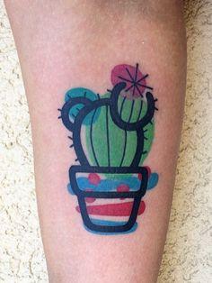 Mambo Tattooer cactus tattoo