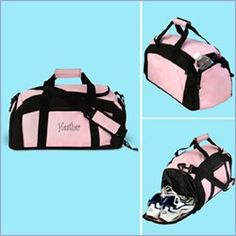 745746166235 Definitely need one with a shoe compartment. Annette Ferrer · Gym Bags ·  Aqua Large Duffel Bag ...