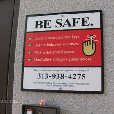 Be careful and safe this Labor Day weekend!