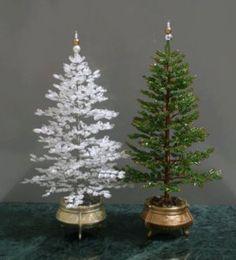 Como hacer un Arbol de Navidad con Mostacillas - enrHedando