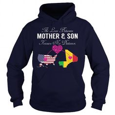 Awesome Tee Mother Son - United States Mali T shirt