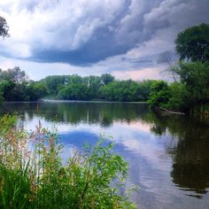 Fox River, Chain O' Lakes State Park, Lake and McHenry County Illinois