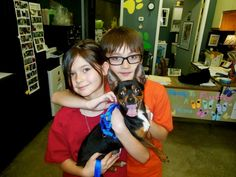 Pedro's been adopted!