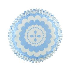Doric Blue Vintage Lace Cupcake Cases from Bath Cake Company - www.bathcakecompany.co.uk Lace Cupcakes, Cupcake Cases, Fairy Cakes, Baking Accessories, Cake Baking, Cake Shop, Vintage Lace, No Bake Cake, Pretty