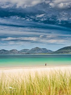 Luskentyre Beach is found on the west coast of South Harris in the Outer Hebrides, Scotland. Luskentyre is one of the largest and most spectacular beaches in Harris and was named one of the UK's best beaches in Trip Advisor. Photo: google+