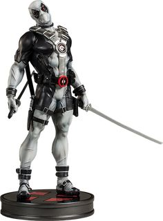 Deadpool X-Force Edition Premium Format figure from Sideshow Collectibles #deadpool #statue #sideshow