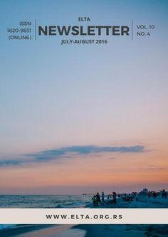 ELTA Newsletterr: July-August 2016