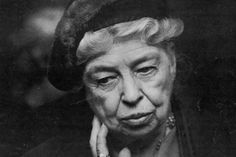 Eleanor Roosevelt - Former First Lady of the United States #internationalwomensday #eleanorroosevelt