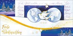 Weihnachtskarten 2017 für Firmen | Kategorie Weihnachtskarten auf Naturpapier | Motiv: Friedenstaube - Artikel Nummer 41816
