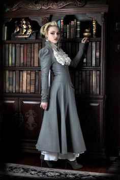Lady Grey full outfit by Steampunk Couture by SteampunkCouture, $599.00