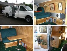 Stealth Camper Van | Hackaday