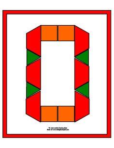 pattern block number   templates