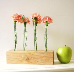 test tube flower vases