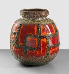 Scheurich 284-19 (Fat Lava Wadersloh) Tags: west vintage lava fat retro german pottery wgp scheurich