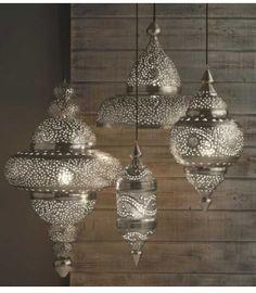 Foyer Idea - Moroccan Lighting