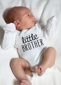 Little Brother Onesie® Little Brother Onesie® by LittleAdamandEve