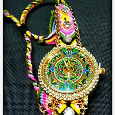 Handwatch aztec calendar New mexican handwatch Jewelry