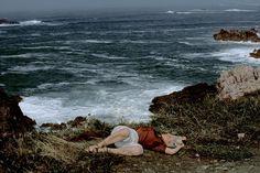 © Harry Gruyaert/Magnum Photos FRANCE. Britanny region. Pointe du Raz. 1983.